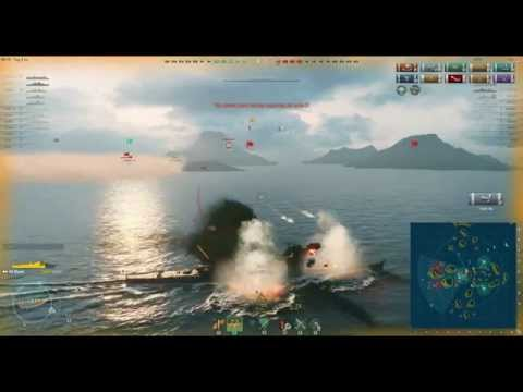 World of Warships - Asia Server Diaries ep 1
