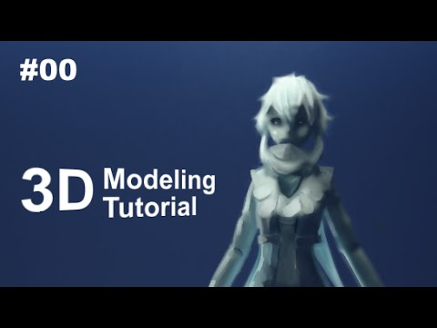 Part 1 40 Anime Character 3d Modeling Tutorial Ii Reference And Basemesh Youtube