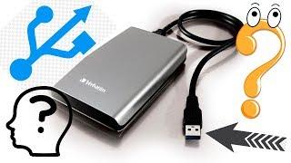 Как подключить USB ЖЕСТКИЙ ДИСК к компьютеру