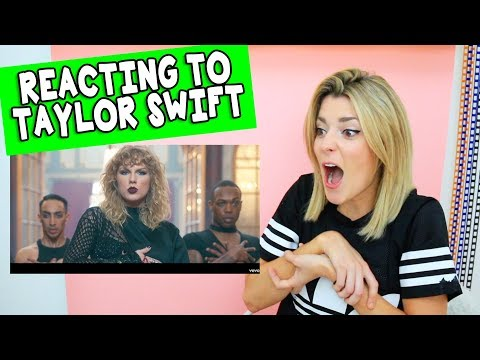 REACTING TO LOOK WHAT YOU MADE ME DO // Grace Helbig