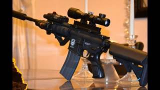 """Custom G&g Gr15 """"bull Barrel"""" Sniper Airsoft"""