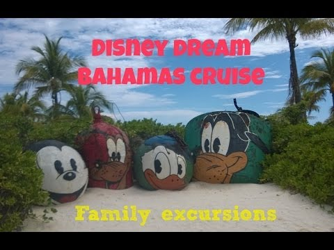 Disney Cruiselines: Dream Ship Excursions in Bahamas
