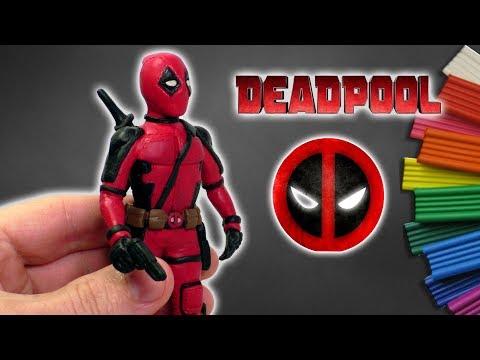 ДЭДПУЛ - ЛЕПИМ ИЗ ПЛАСТИЛИНА   DIY Deadpool 2