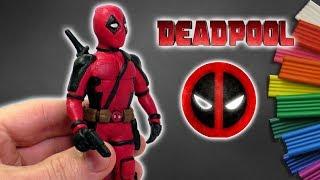 ДЭДПУЛ - ЛЕПИМ ИЗ ПЛАСТИЛИНА | DIY Deadpool 2