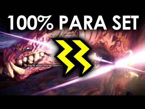 MHWorld | The Best Para Set in the Game [100% Output with Ap