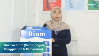 Filter air minum - Saringan air - Nazava Riam 16 ltr