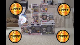 All my Chase Funko Pops!