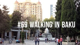 #69 Walking in Baku(Video of me walking in downtown Baku. This video shows Fountains Square and a few surrounding streets. http://www.youtube.com/jeroenaalderink ..., 2013-11-08T17:00:55.000Z)