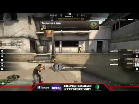 Bullet of Destiny Vs  PUB IT [BenQ CS:GO Championship 2014]