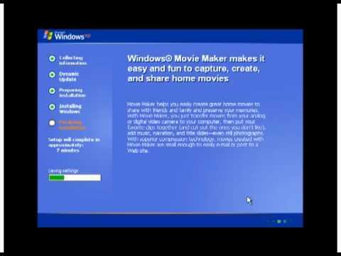 Hướng dẫn cài đặt Windows SP2 - Phần 2