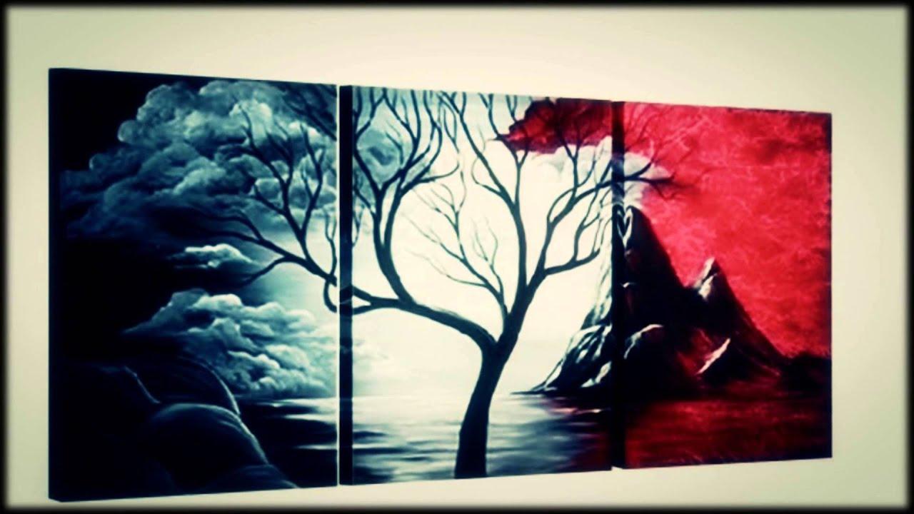 Decoraci n con cuadros lo mejor para tus ambientes en - Cuadros murales para pared ...