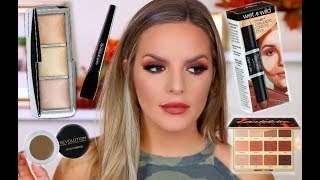 MATTE FALL MAKEUP LOOK | Casey Holmes