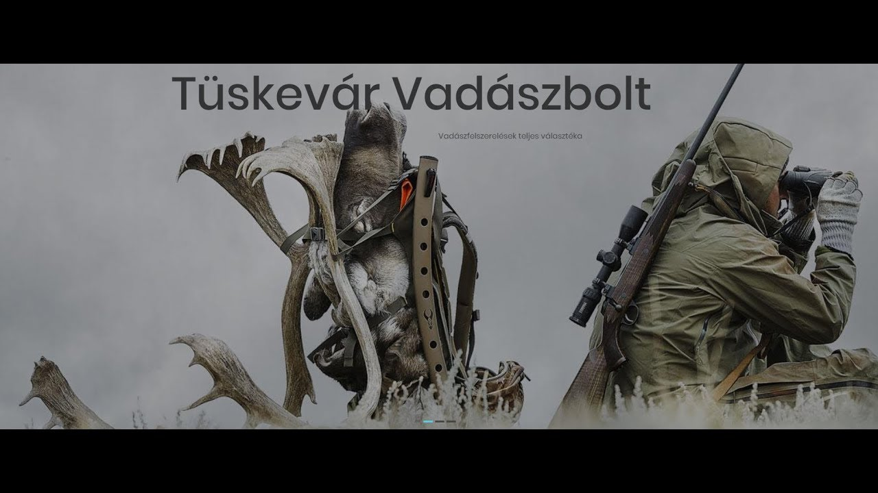79572237be03 Tüskevár Vadászbolt – Vadászbolt és webáruház