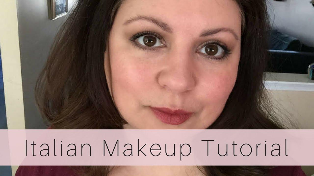 Italian makeup tutorial la dolce vita look youtube italian makeup tutorial la dolce vita look baditri Images