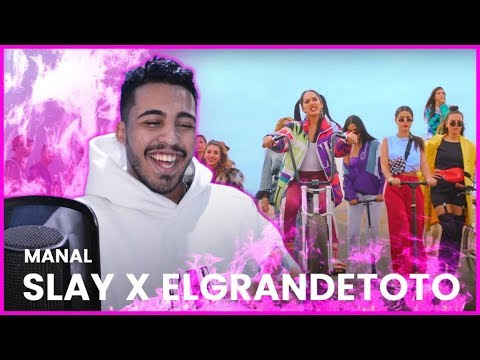 Manal - SLAY x ElGrandeToto [ Official Music Video ] (Reaction)