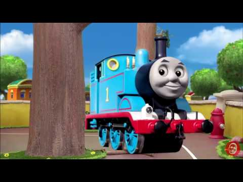 We Are Number One but Thomas The Tank Engine's music is playing in the description