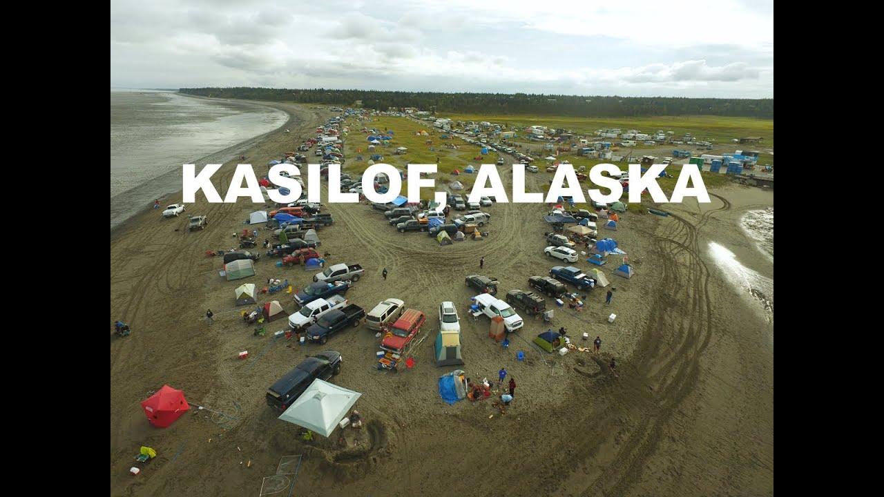 Kasilof alaska dip netting independence weekend youtube for Alaska fish counts