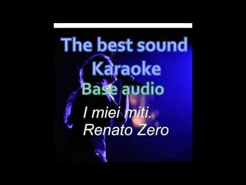 I miei miti - Renato Zero - karaoke
