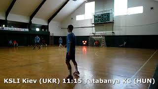 Handball. U17 boys. Sarius cup 2017. KSLI Kiev (UKR) - Tatabanya KC (HUN) - 15:22 (2nd half)