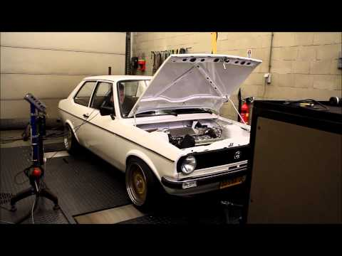 Dyno VW Derby 1.3L 8V 133hp KMS MP25