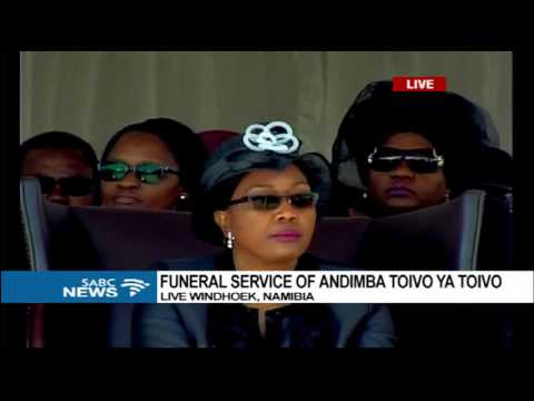 Toivo Ya Toivo funeral ongoing in Namibia