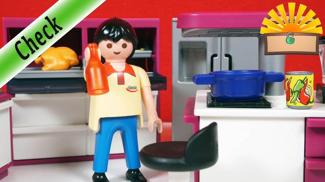DESIGNERKÜCHE für ... ? :-) Playmobil 5582 Küche mit Einrichtung ...