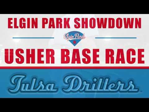 Tulsa Drillers Usher Base Race