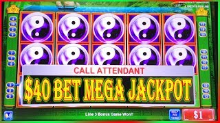 ☯ MEGA JACKPOT ☯ 13000 SUB SPECIAL ☯ $40 BET ☯ CHINA SHORES HIGH LIMIT SLOT MACHINE