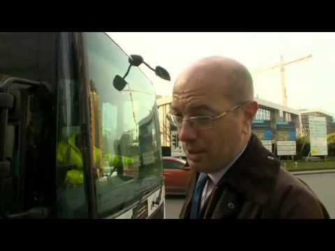 BBC London News 29 Jan 2014 TfL lobby Europe lorries