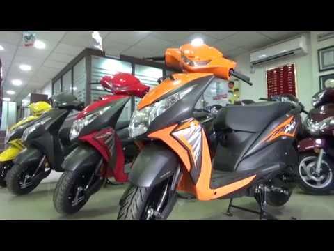 Honda Dio New Model 2018 >> ALL NEW DESIGN AND COLORS OF HONDA DIO.WALK AROUND VIDEO. - YouTube