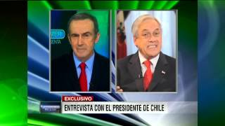 "Oppenheimer Presenta #1405 ""Entrevista exclusiva con el Pte. Sebastian Piñera"""
