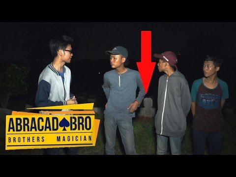 SEREM! Arwah Orang Meninggal Menulis Namanya Sendiri? | abracadaBRO Magic Paranormal Experience