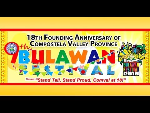 Bulawan Festival 2016 - Opening Program