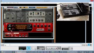 Setting up a Line 6 FBV Express MkII with Propellerhead Reason