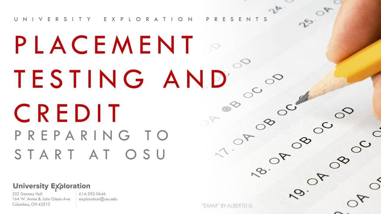 placement testing at osu youtube rh youtube com