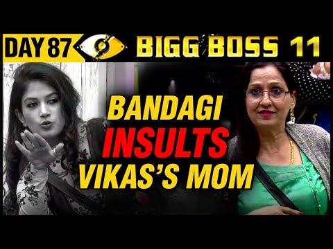 Bandgi INSULTS Vikas Gupta's Mother   Day 87   Bigg Boss 11   27th December Full Episode Update