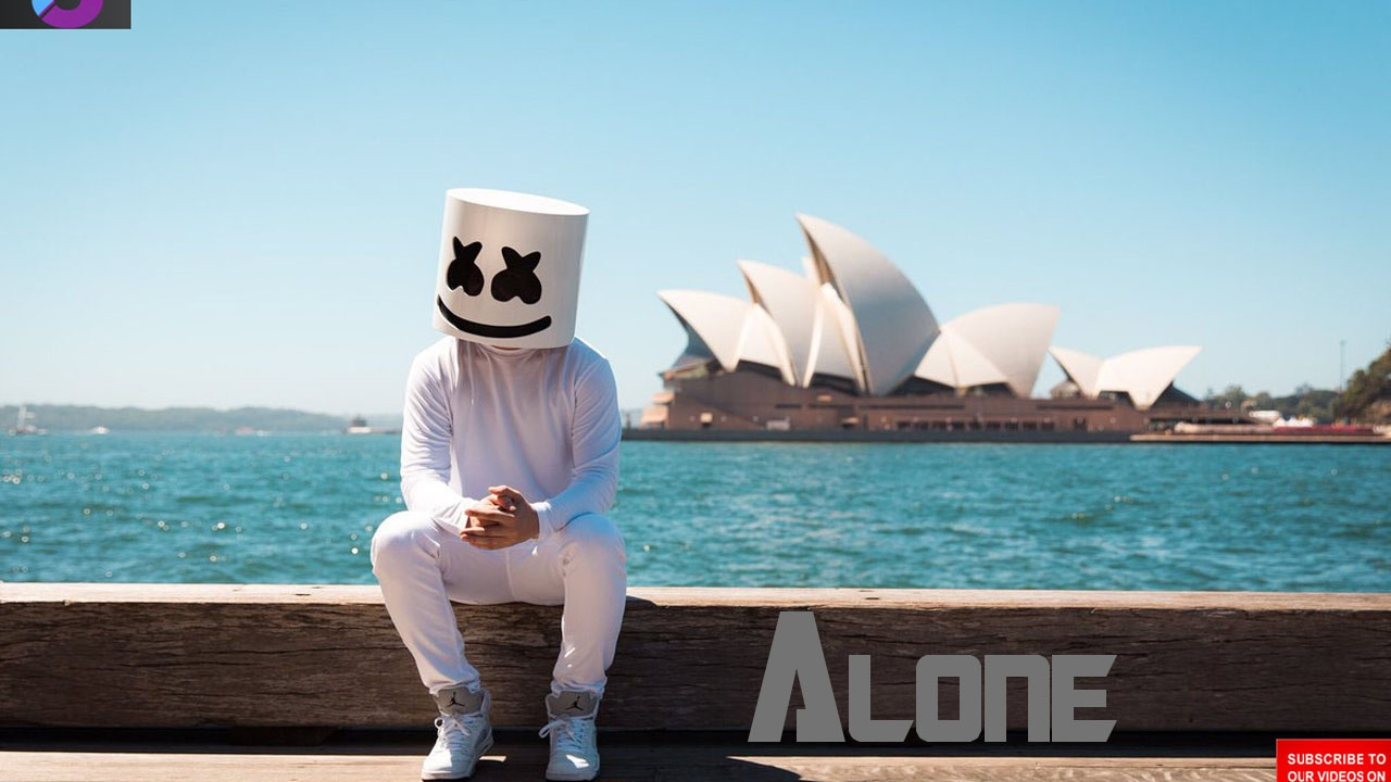 Marshmello Alone Monstercat Official Music Video Youtube