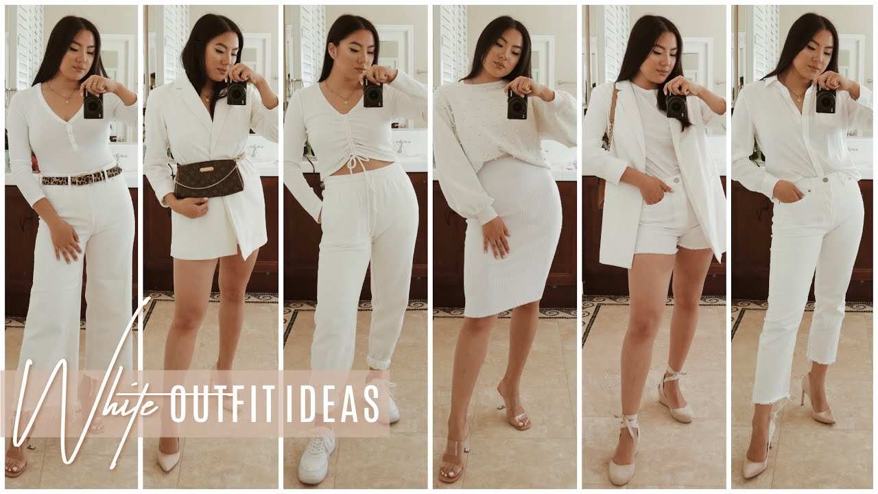 All White Outfit Ideas for Spring 2