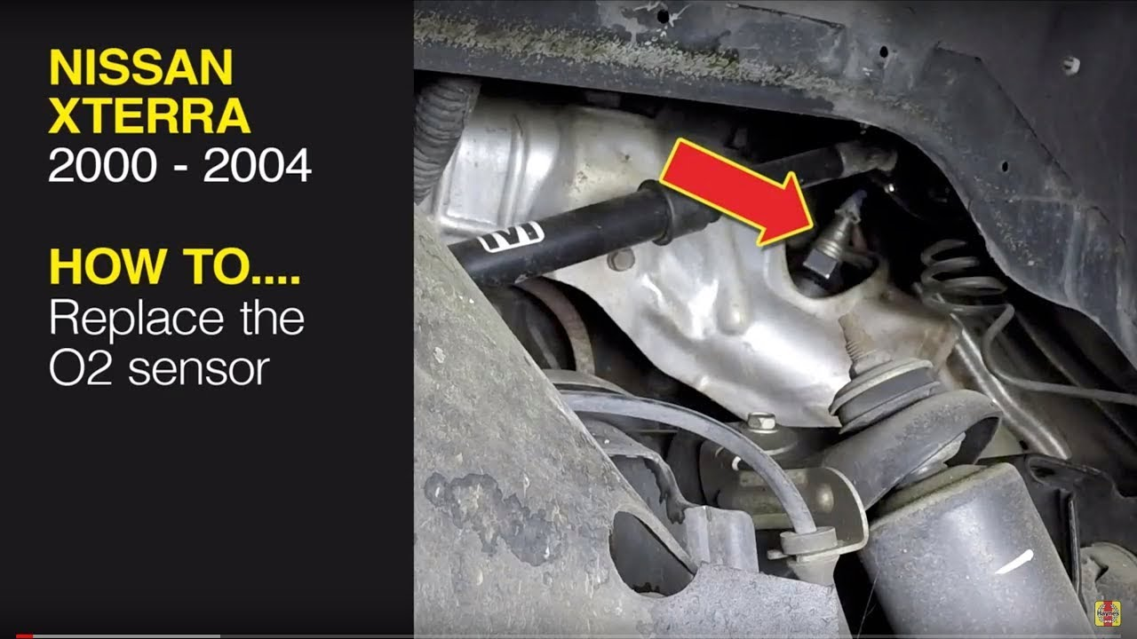 Replace the O2 sensor on a Nissan Xterra (00-04), Pathfinder (96-04) or  Frontier pick-up (98-04) - YouTubeYouTube