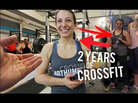 JASMINE'S 2 YEAR EPIC CROSSFIT TRANSFORMATION