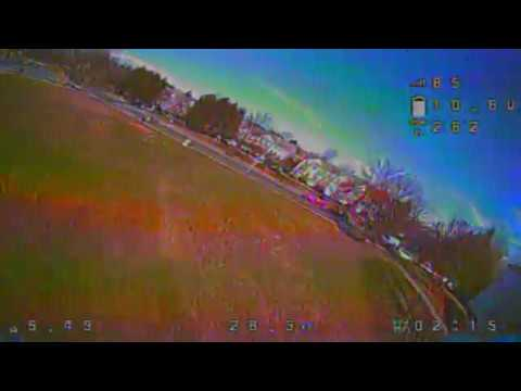 FPV Quadcopter! Freestyle Practice 1