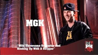 MGK - Wild Threesome Scenarios & Hooking Up With A Stripper (247HH Exclusive)