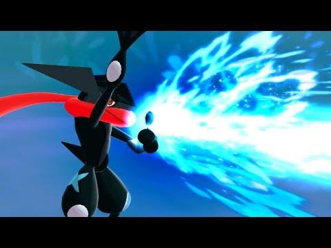 Shiny Greninjas Last Stand! - Pokemon SUN & MOON WiFi Battle #166: 6ftHax VS Astradon (1080p)