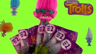 Dreamworks Trolls Blind Bags Series 2 opening toy surprises fun playing Dancing Poppy