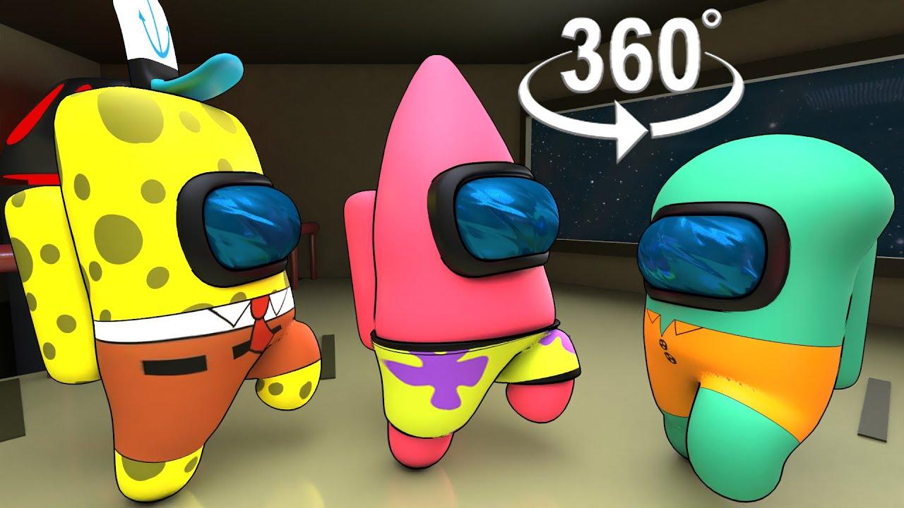 (Patrick, SpongeBob and Squidward) Distraction Dance 360° VR