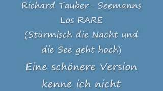 Richard Tauber  Seemanns Los