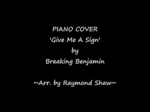 Give Me A Sign - Sheet Music for Piano Cover