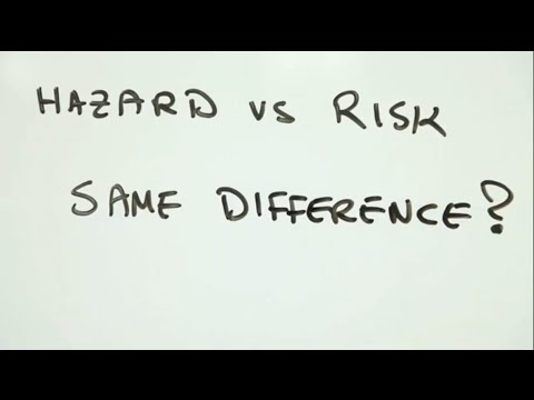 differentiate between hazard and a risk essay A hazard is an agent which has the potential to cause harm to a vulnerable target  the terms hazard and risk are often used interchangeably  a distinction  can also be made between rapid onset natural hazards, technological hazards  and.