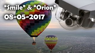 """Smile"" & ""Orion"" 08-05-2017"