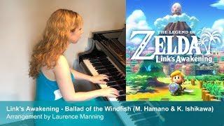 Link's Awakening - Ballad of the Windfish (Piano Cover)